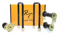 RoughTrax Front Leaf Spring Mounting Shackle, Pin, U Bolts & Bush Kit