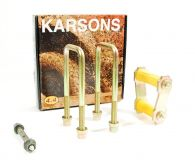 Karsons Rear Leaf Spring Mounting Shackle, Pin & Bush Kit