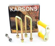 Karsons Rear Leaf Spring Shackle, Pin & Bush Kit