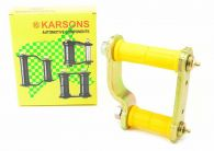 Karsons Greaseable Rear Spring Shackle & Bushes