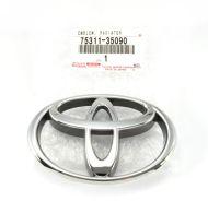 "Genuine Toyota Oval Chrome ""T"" Badge Emblem - 75311-35090"