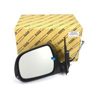 Genuine LH Chrome Mirror with Indicator Heated Electric Lens & Folding