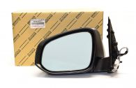 Genuine LH Door Mirror- Heated, Electric lens, Indicator & Manual Folding