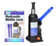 4 Tonne Hydraulic Bottle Jack with screw thread extension for greater reach