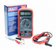 MM20 Sealey Digital Multimeter 8 Function with Thermocouple - Red casing