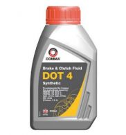 Comma Synthetic DOT 4 Brake & Clutch Fluid