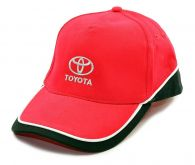 Genuine Toyota Red/Black Baseball Cap