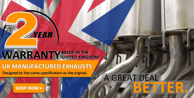 UK Manufactured Exhausts