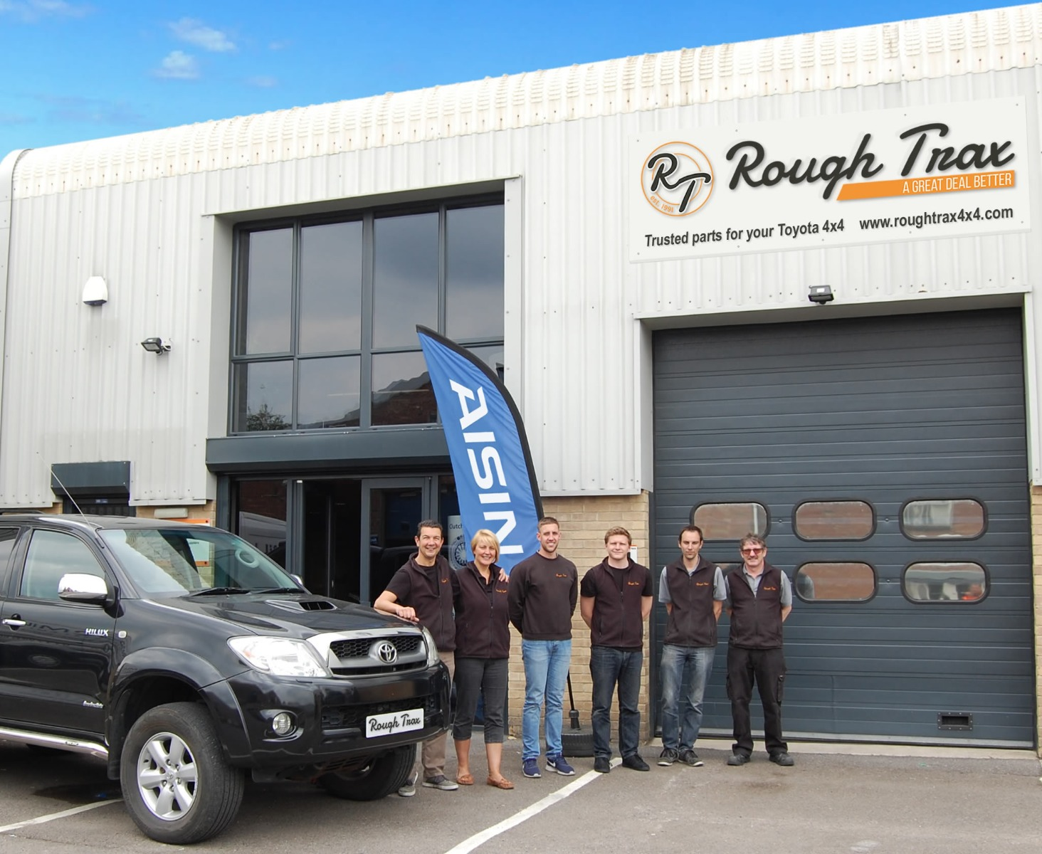 RoughTrax Team Celebrating 25 Years of Business
