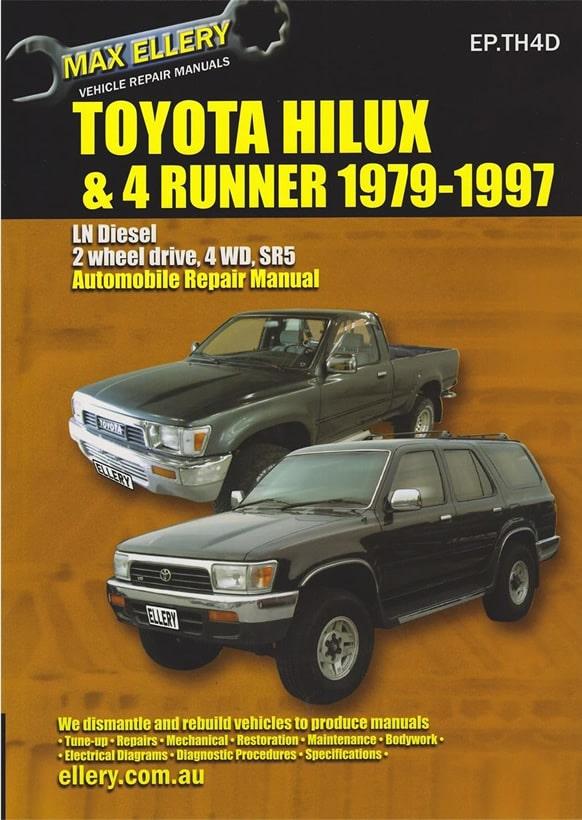 Bestseller  Repair Manual Toyota Hilux Gearbox Diagram