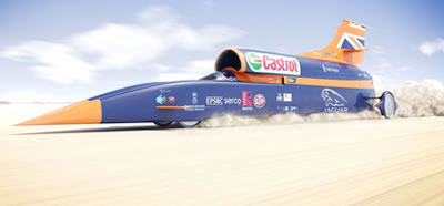 Blood Hound SSC Land Speed 