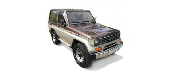 Land Cruiser LJ70 2.4cc TD (86-90) UK