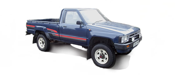 Hilux Pickup LN65R 2.4cc Diesel (83-88) UK Mk2
