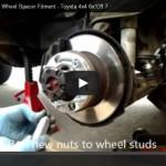 30mm Wheel Spacer Installation [VIDEO]