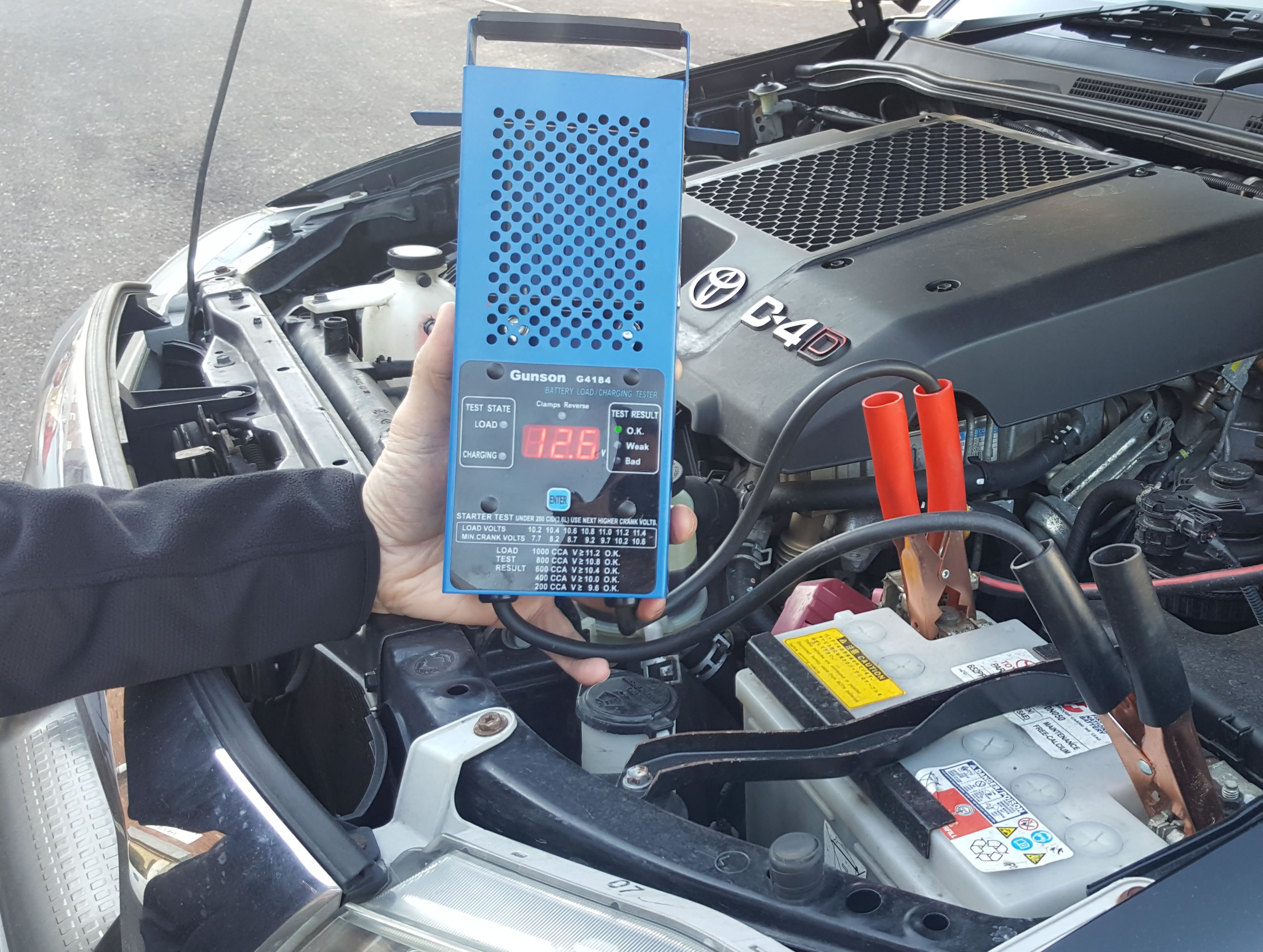Battery Drop Tester
