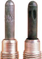 Glow Plug Failure Heating Rod with Folds & Dents