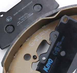 R90 Brake Pad & Shoe Markings