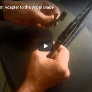 Fitting the Wiper Arm Adapter to the Wiper Blade [VIDEO]